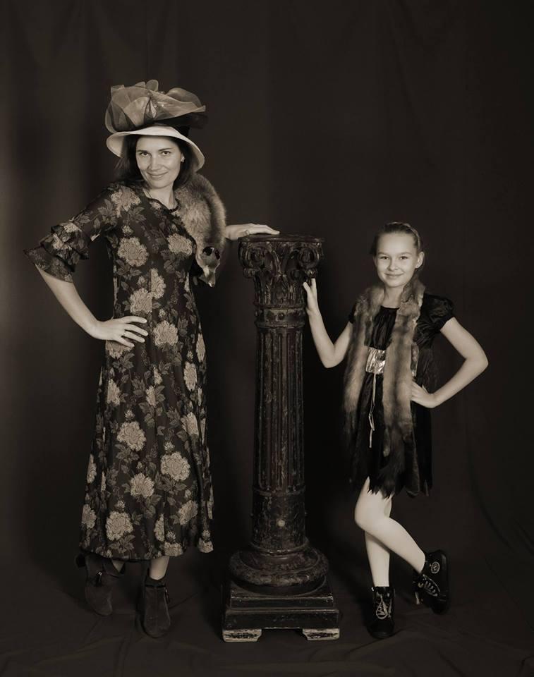 Mama ir dukrytė